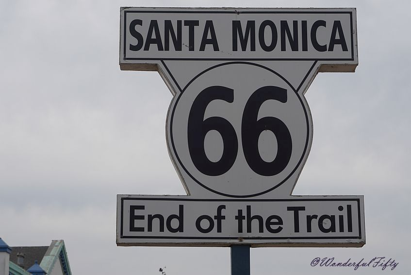 End of the Route 66