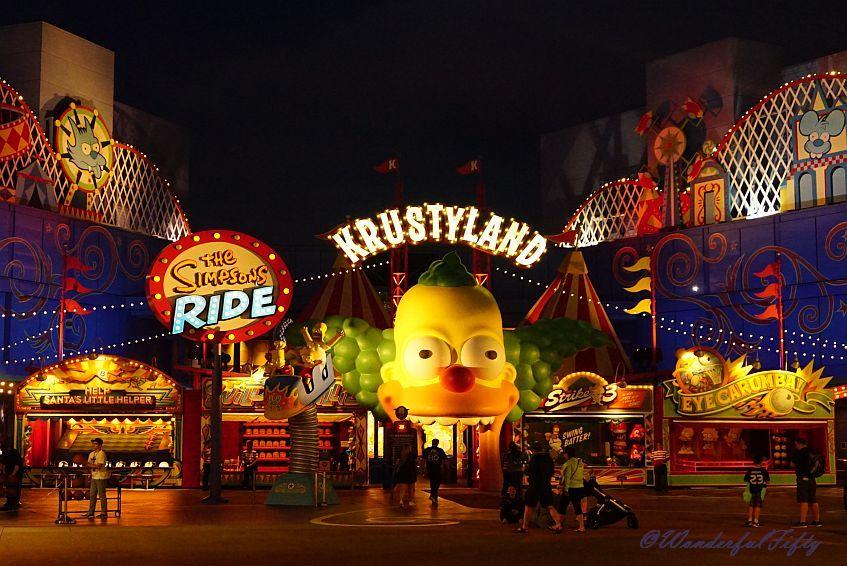 Krustyland - Universal Studios