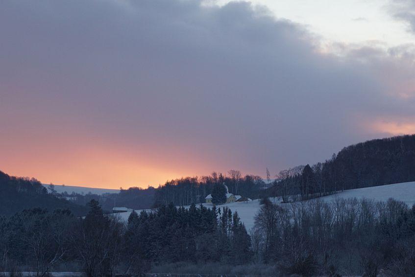 Sonnenaufgang Neujahr