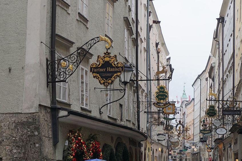 Zunftschilder in Salzburg