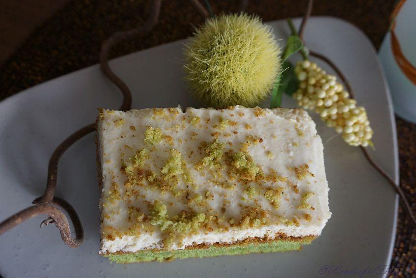 Frühlingsbäckerei – lass den Kuchen grünen!