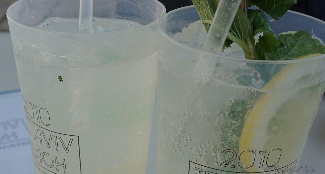 Getränk im Sommer