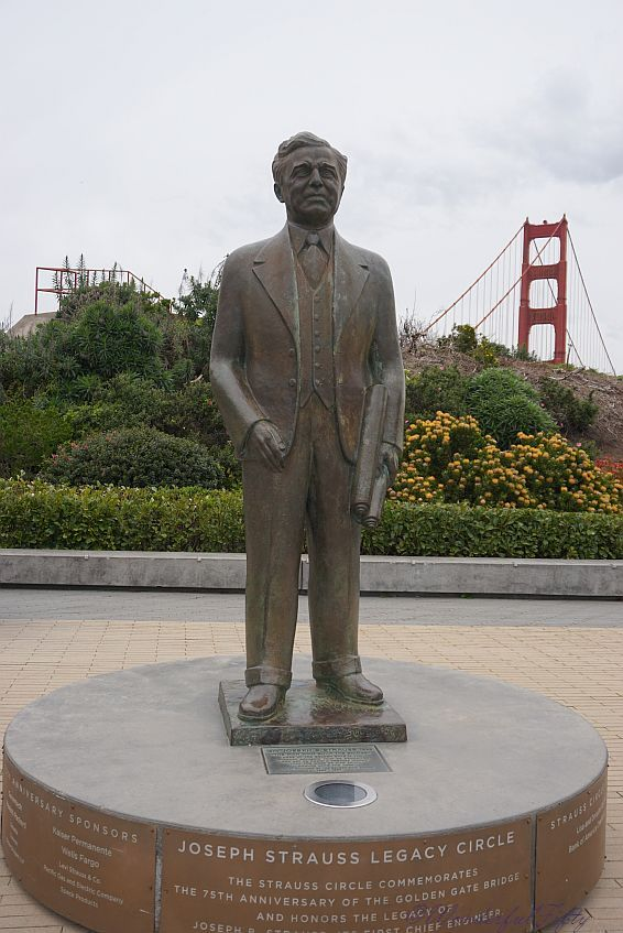 Golden Gate Bridge- Joseph Strauss