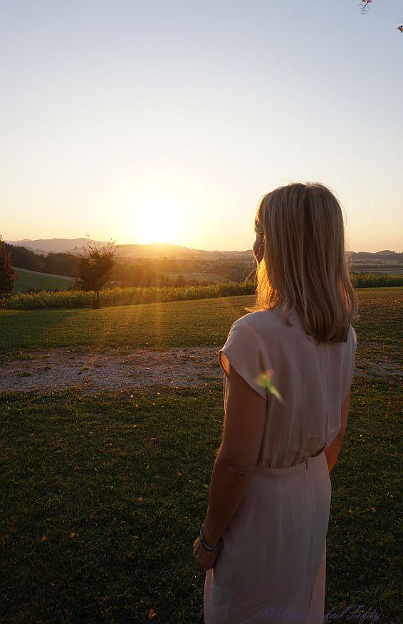 Glücklich - Sonnenuntergang