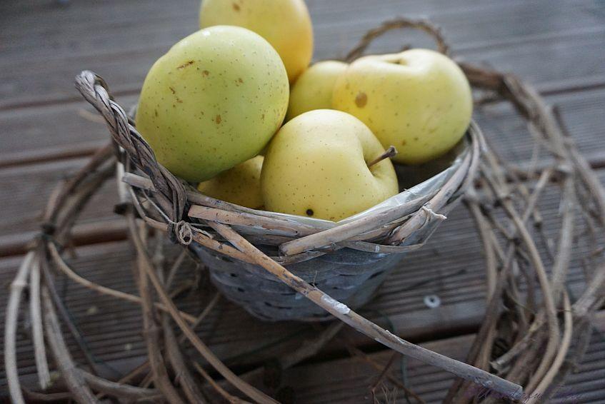 Glücklich - Äpfel