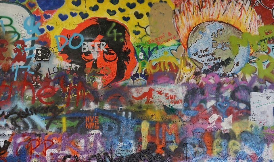 Prag - John Lennon Wall