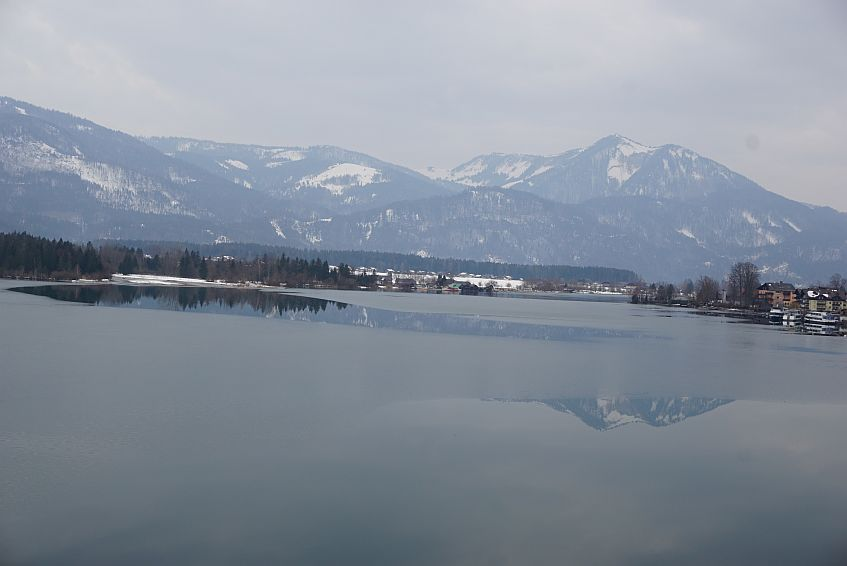 Wolfgangsee im Winter